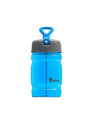 Drikkedunk 350 ml kids blå sport med indbygget sugerør