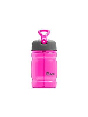 Drikkedunk 350 ml kids pink med indbygget sugerør