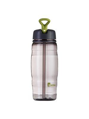 Drikkedunk 720 ml grå sport med indbygget sugerør