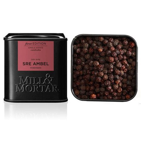 Dry ripe peber Sre Ambel Mill & Mortar