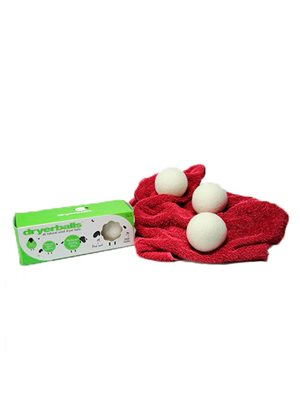 DryerBalls 100% uld 3 stk.  tørretumbling