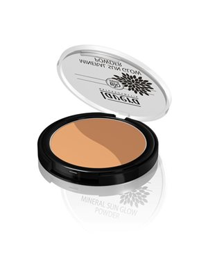 Duo Sun glow 01 Golden Sahara Mineral powder Lavera Trend