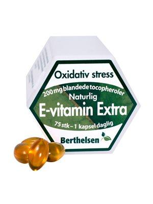 E-vitamin Ekstra 200 mg  Berthelsen