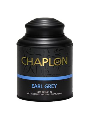 Earl Grey sort te dåse Ø