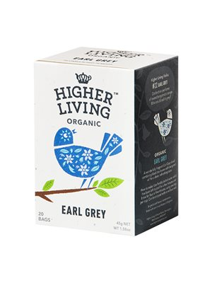 Earl Grey te Ø Higher Living