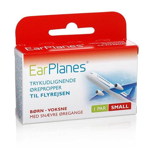 Billede af Earplanes - Small 1 sæt Trykregulerende ørepropper af blød silikone