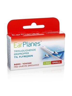 Earplanes - Small 1 sæt Trykregulerende ørepropper af blød silikone