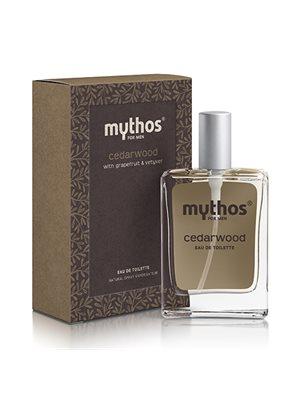 Eau de toilette for men Cedarwood Mythos