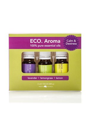 ECO Aroma Trio Calm & Destress 3x10ml