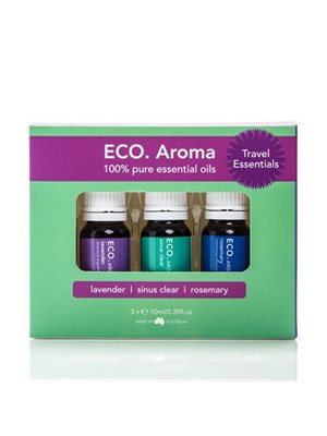 ECO Aroma Trio Travel  Essentials 3x10ml