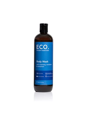ECO Body Wash med Rosmarin, Mandarin & Kanel. Sulfatfri & uden palmeolie