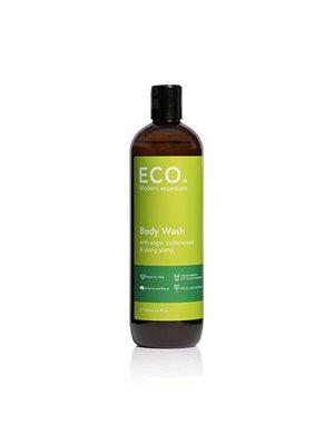 ECO Body Wash med Salvie,  Cedertræ & Ylang ylang. Sulfatfri & uden palmeolie