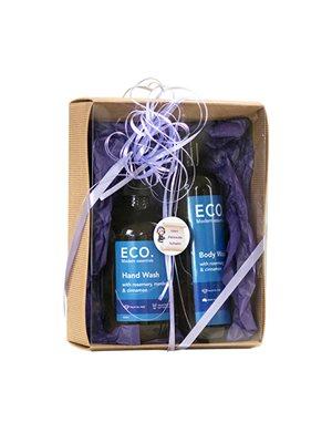 ECO Gavesæt Hand & Body Wash  med Rosmarin, Mandarin & Kanel