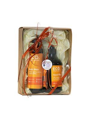 ECO Gavesæt Hand & Body Wash  med Tangerine, Muskatnød og Yl
