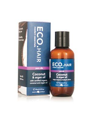 ECO Hårolie Kokos & Argan