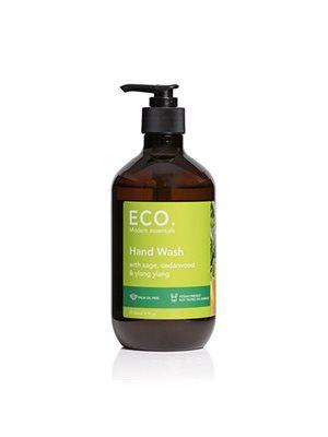 ECO Hand Wash med salvie,  Cedertræ & Ylang ylang. Sulfatfri & uden palmeolie