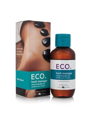 ECO Massageolie Ryg