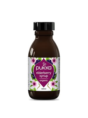 Elderberry Sirup, Mixtur Ø Pukka