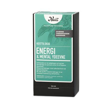 Energi/mental ydeevne  helsepakke Nani
