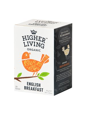 English Breakfast te Ø Higher Living