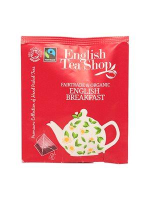 English Breakfast tea Ø  50 breve