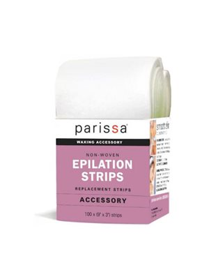 Epilation strips large 9x3 cm Parissa