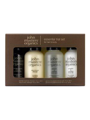 Essential Trial set for hair & body 4 x 30 ml John Masters