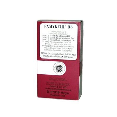 Exmykehl stikpiller 10 stk
