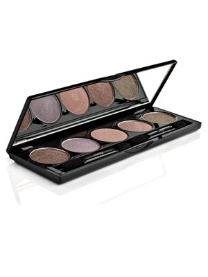Eye shadow palette nr. 6 Black Gold Velvet 170-171-168-172-173 Nvey Eco