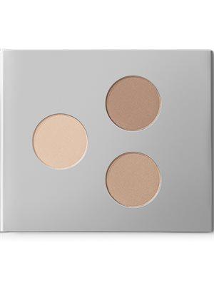 Eyebrow/shadow kit 01 Light  Earth