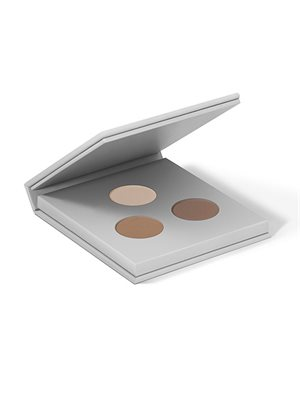 Eyebrow/shadow kit 02 Dark  Stone