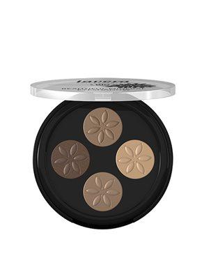 Eyeshadow Cappuccino Cream 02  Beautiful Mineral Quattro Lavera
