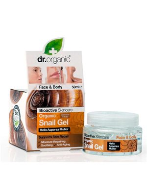 Face and body Gel snail  Dr.  Organic