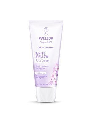 Face cream White Mallow Baby Derma Weleda