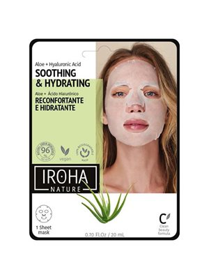 Face mask moisturizing aleo Iroha