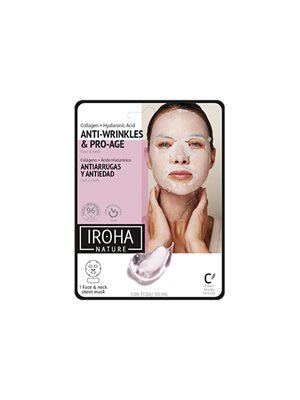 Face & neck anti-age mask collagen Iroha