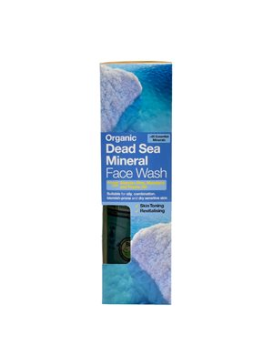 Face wash dead sea Dr. Organic