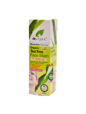 Face wash tea tree Dr. Organic
