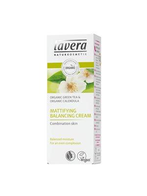 Faces matterende balancing  creme til blandet hud Lavera System Faces