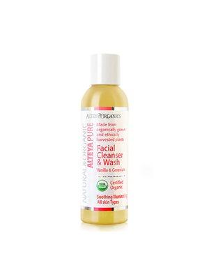 Facial cleanser vanilla og  geranium