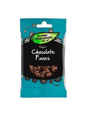 Fava Bønner m. rå chokolade Snack Pack