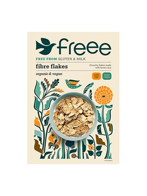 Fibre flakes gl.fri Doves Ø