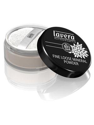 Fine loose powder Transparent Lavera Trend