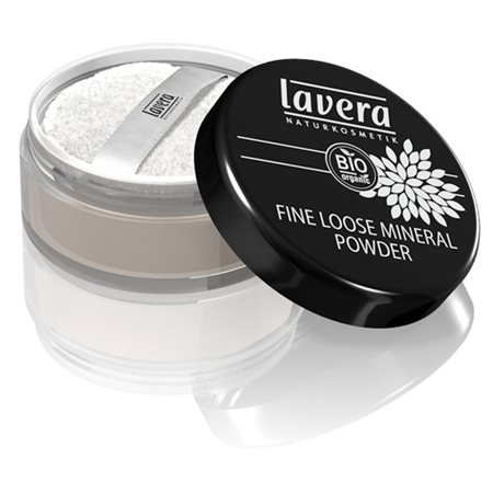 Fine loose powder Transparent Lavera Trend