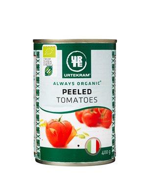 Flåede tomater på dåse Ø
