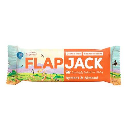 Flapjack m. abrikos og mandel