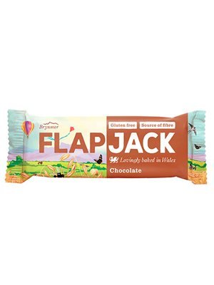 Flapjack m. chokolade
