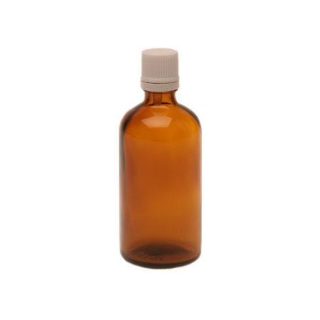 Flaske m. låg og dråbetæller (100 ml)