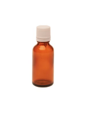 Flaske m. låg og dråbetæller (30 ml)