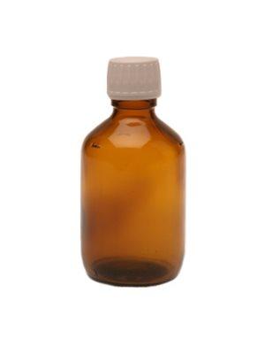 Flaske m. låg og hældering (200 ml)